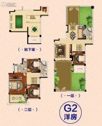 南昌恒大御景(原恒大帝景)4室2厅3卫169--171平方米户型图