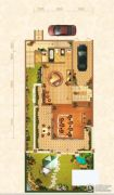 北京城建龙樾湾1室1厅1卫233平方米户型图