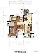 凯茵又一城(商铺)3室2厅2卫113平方米户型图