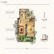 中海・悦墅4室3厅3卫178平方米户型图