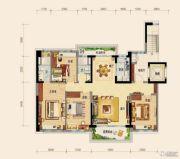碧桂园・紫台4室2厅2卫147平方米户型图