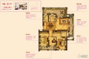 宇诚逸龙湾3室2厅2卫111--113平方米户型图