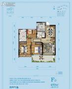 佳源湘湖印象3室2厅2卫89平方米户型图