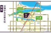铂宫时代小区交通图