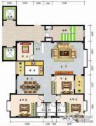 怡景雅苑4室2厅3卫0平方米户型图