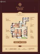 金悦花园5室2厅3卫187平方米户型图
