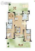 太湖锦园3室2厅2卫173平方米户型图