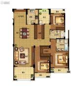 野风启城3室2厅2卫166平方米户型图