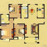 国华御翠园3室2厅2卫149--150平方米户型图