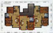 泰和熙地2室2厅1卫89平方米户型图