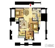福星惠誉东湖城3室2厅1卫0平方米户型图