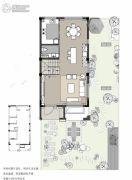 菩悦花苑4室3厅3卫0平方米户型图