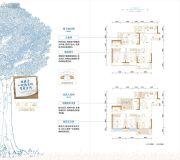 金茂国际生态新城3室2厅2卫105平方米户型图