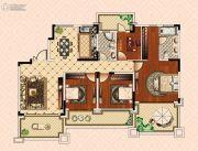 南昌恒大御景(原恒大帝景)4室2厅2卫149平方米户型图