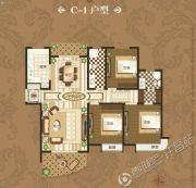 禹州御湖湾3室2厅2卫163平方米户型图