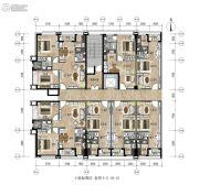 和平金丰广场1室1厅1卫0平方米户型图