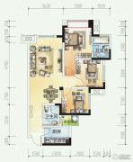 时代悦城3室2厅2卫94平方米户型图