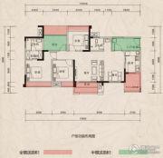 翰林府邸4室2厅2卫109--133平方米户型图