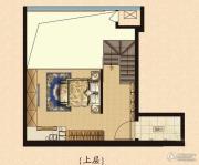 鲁商国奥城1室1厅1卫0平方米户型图