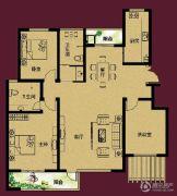 正诚阳光花墅3室2厅2卫133--152平方米户型图