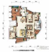 锦绣御园4室2厅2卫200平方米户型图