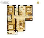 枣强・新天地3室2厅2卫122平方米户型图