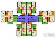 四季康城四期水岸城邦2室2厅1卫87平方米户型图