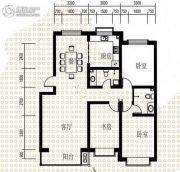 易构城3室2厅2卫130平方米户型图