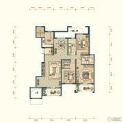 滨湖国际・观澜4室3厅3卫287平方米户型图