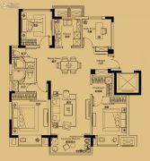 绿地苏州ONE4室2厅2卫119平方米户型图