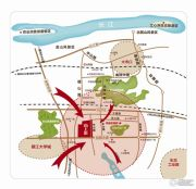 新城・尚上城交通图
