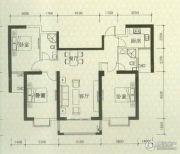 罗马景福城3室2厅2卫123平方米户型图