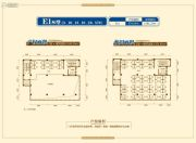 总部生态城・总部花园1室1厅1卫166--351平方米户型图