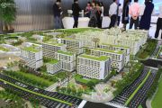 广州国际空港中心沙盘图