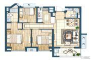 灏景湾3室2厅2卫89平方米户型图