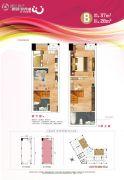 鹏润悦秀城0室0厅0卫28平方米户型图