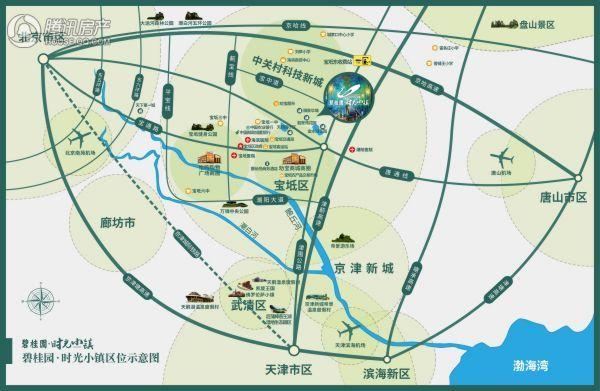 碧桂园时光小镇区位图