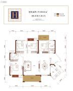 金盘・世界城4室2厅2卫169平方米户型图