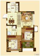 城开・观云2室2厅1卫70--73平方米户型图