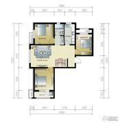 紫林湾3室2厅1卫118平方米户型图