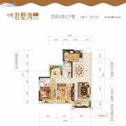 中熙・君墅湾3室2厅2卫0平方米户型图