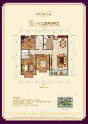 瑞璞君悦兰庭3室2厅2卫117--119平方米户型图
