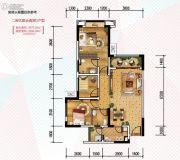 金科天宸0室0厅0卫75平方米户型图