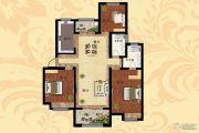 天明城3室2厅2卫131平方米户型图