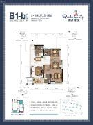 骋望�B玺3室2厅2卫81--84平方米户型图