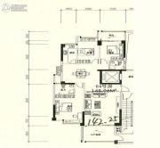 星湖城3室2厅2卫142平方米户型图