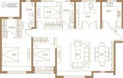 保利・金香槟4室2厅2卫162平方米户型图