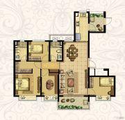 恒大御景湾4室2厅2卫139平方米户型图