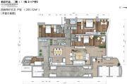 锦峰�Z玺4室2厅5卫205平方米户型图