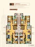 奥北公元3室2厅2卫141平方米户型图